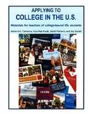 """""""Applying to College in the U.S."""" Original 4 Week Bundle ("""