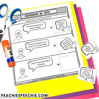 I Can Have Conversations: No Prep Social Language Workbook