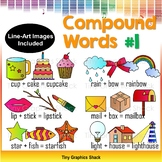 Compound Words Clip Art Set 1