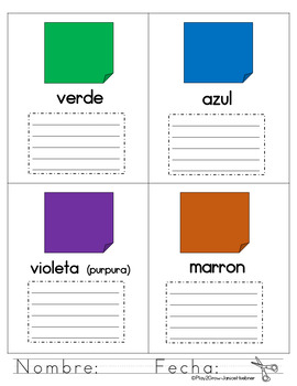 ¡Aprende 16 Colores, Detective! (Spanish only)Make Your Own Detective Notepad!