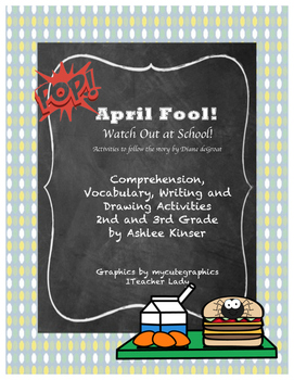 """""""April Fool! Watch Out at School""""  - Comprehension Vocabul"""