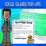 Langston Hughes & The Harlem Renaissance {Social Studies Pop-Ups}