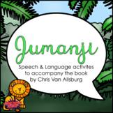 Jumanji (Speech Therapy Book Companion)