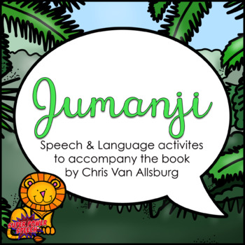 Jumanji (Speech Therapy Book Companion)