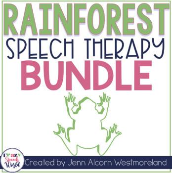 Rainforest Speech Therapy Bundle!