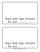 ¡Aquí está algo morado! A beginning Spanish workbook/reader (noun/adj agreement)