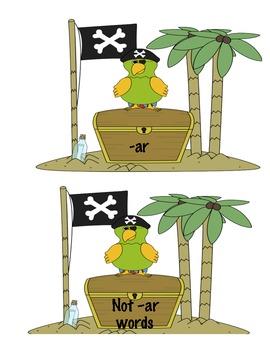 -Ar says Arrrrg Pirate Word Sort