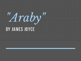 """""""Araby"""" by James Joyce Close Reading/ Reader Response Lesson"""