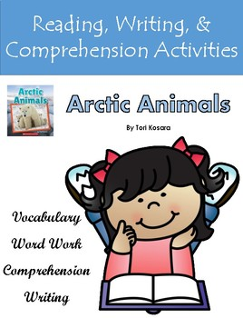 """""""Arctic Animals"""" Activities For Guided Reading, Listening Center, or Follow Up"""