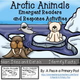 """Arctic Animals"" Emergent Readers and Response Activities"