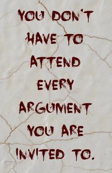"""Argument"" Classroom 11 x 17 JPG Poster Classroom Management Character Ed PBIS"