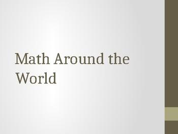 """Around the World"" Math Facts"