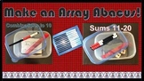 """""""Array Abacus"""" Math Manipulative--Directions for Making Th"""