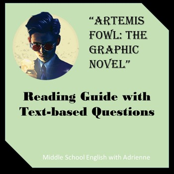 """Artemis Fowl: The Graphic Novel"" Reading Guide"