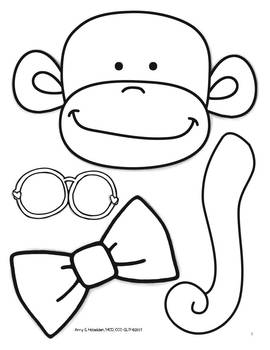 """""""Articulated"""" Monkey Articulation Activity with all Sounds"""