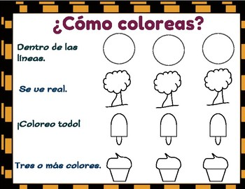 ¡Así coloreo! This is the way I color!