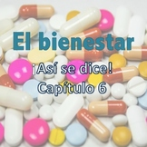¡Así se dice! Capítulo 6 El bienestar Vocabulary PowerPoint