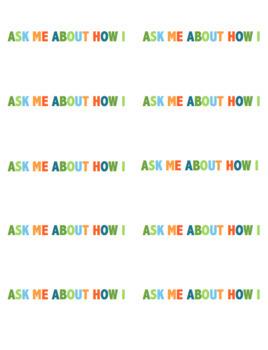 Encouragement Stickers, Editable