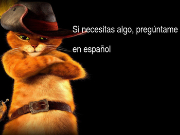 """""""Ask me in Spanish!"""" (Printables) with your favorite movie"""