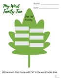 """At"" Family Word Tree"