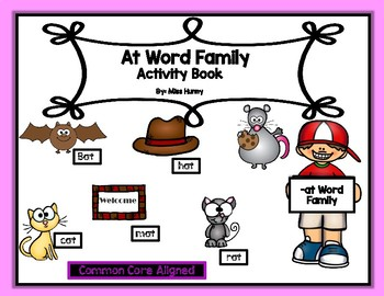 -At Word Family Activity/Book