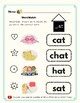 -At Word Family Kit 30 pages (Blend Seg CVC) Transitional