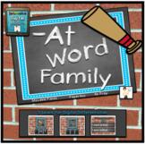 -At Word Family Interactive Digital Google™ Resource