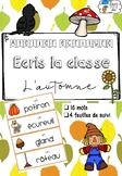 [Atelier écriture] Ecris la classe - L'automne