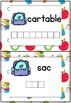[Atelier lecture] Lettres mobiles - Rentrée scolaire