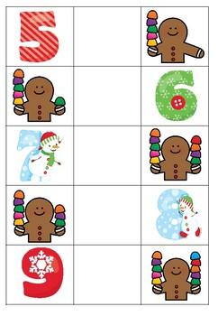 [Atelier math] Comparaison de nombres - Noël