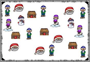 [Atelier math] Complète le graphique - Noël autour du monde