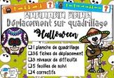 [Atelier math] Déplacement sur quadrillage - Halloween