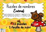 [Atelier math] L'automne - Puzzle de l'écureuil