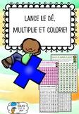 [Atelier math] Lance le dé, multiplie et colorie