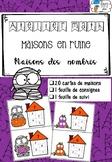 [Atelier math] Maisons des nombres Halloween