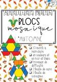 [Ateliers math] Blocs mosaïques - L'automne