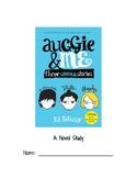 """Auggie & Me"" Novel Study"