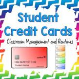 EDITABLE Student Credit Cards