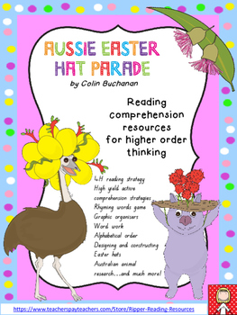 """Aussie Easter Hat Parade"" HOT cross-curricula activities"