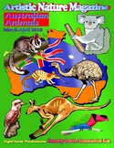 """Australian Animals"" Art & Nature-Science Unit"