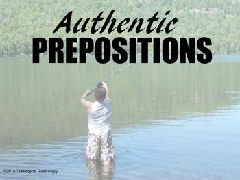 (Authentic) Prepositions