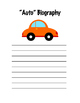"""""""Auto"""" Biography"""