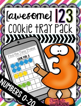 {Awesome} 123 Cookie Tray Pack