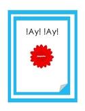 """Auténtico 1 - 1A: vocabulary game """"Ay! !Ay!"""""""