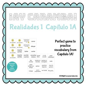 Realidades A Capitulo 1a Worksheets Teaching Resources TpT