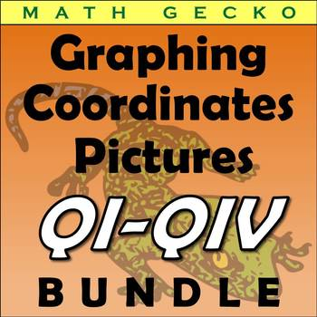 #B070 - Graphing Coordinates Picture Bundle