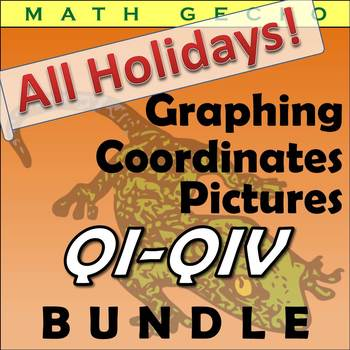 #B080 - Holidays! Graphing Picture Bundle