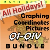 #B080 - All Holidays! Graphing Picture Bundle