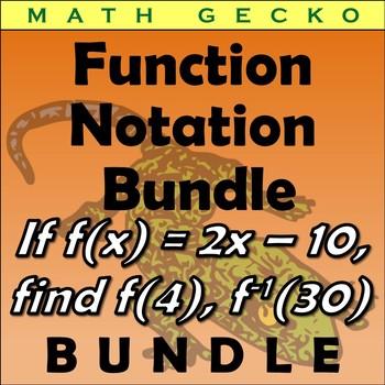 #B190 - Function Notation Bundle
