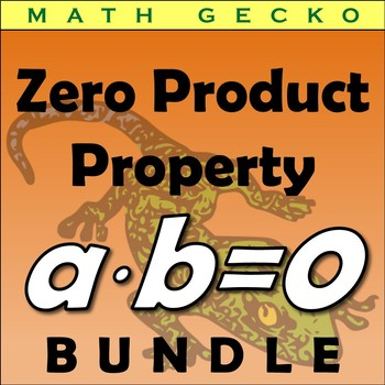 #B285 - Zero Product Property Bundle